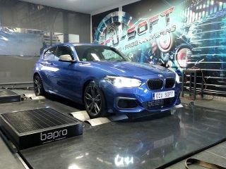 Maatwerk Chiptuning BMW 135i 2014 326 pk en 450 nm mod 381.8 en 522 Nm