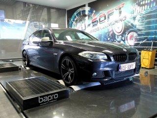 Maatwerk Chiptuning BMW 520D 184 pk 2013