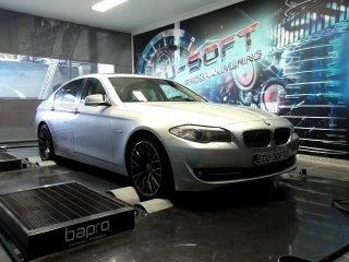 Maatwerk Chiptuning BMW 525D 204 pk 2012