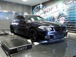 Maatwerk Chiptuning BMW 525D 204 pk 2013