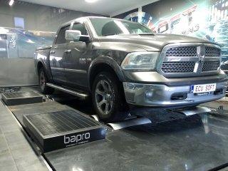 Maatwerk Chiptuning Dodge Ram 2015 411pk 582.4nm
