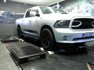Maatwerk Chiptuning Dodge Ram 419.2pk 591.4nm