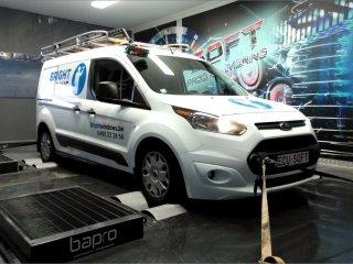 Maatwerk Chiptuning Ford Transit Connect 1.6 TDCI 115 pk 2016