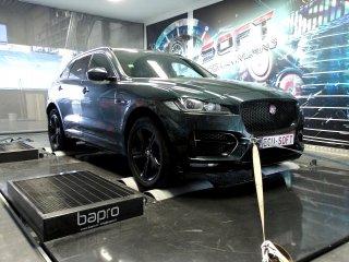Maatwerk Chiptuning Jaguar F-Pace 2.0 D 180 pk 2016