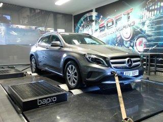 Maatwerk Chiptuning Mercedes GLA 180CGI 122pk en 200 Nm mod 177 pk en 315 Nm