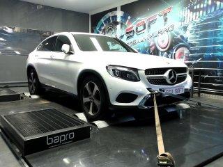 Maatwerk Chiptuning Mercedes GLC 220CDI ori 170 pk en 400 Nm mod 229,7 en 508 Nm