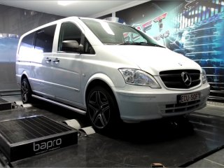 Maatwerk Chiptuning Mercedes Vito W639 113 CDI 136 pk 2011
