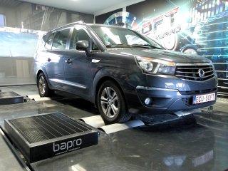 Maatwerk Chiptuning SsangYong New Rodius 2.2 e-XDi 178 pk 2017
