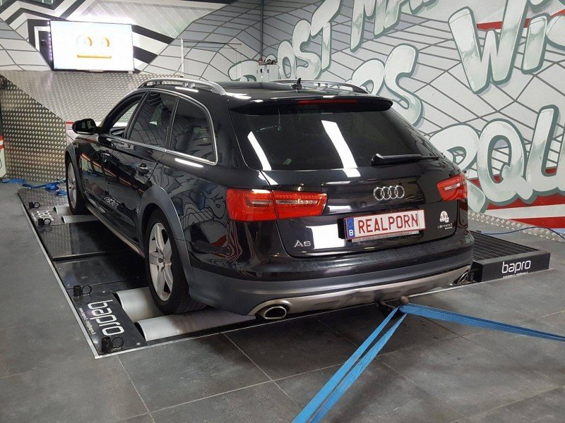 Audi A6 3.0 TDI stage 1 Chiptuning