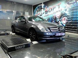 Mercedes E200 Chiptuning